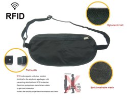 RFID Blocking Phone Belt Pouch Running Bag Fitness Sports Fanny Pack Waist Bag