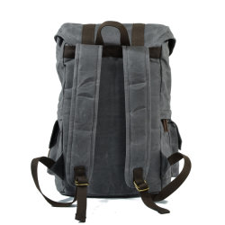 Water Repellence Canvas Tactical Backpack Military Sport Luggage Bag (RS-9157)