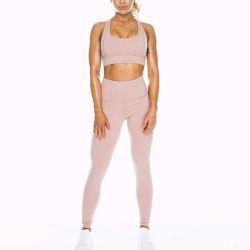 Custom Made Activewear Sports Bra and Leggings Set