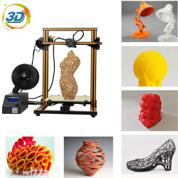 Destop 3D Printing Printer Supports PLA/ABS/TPU/Wood Filament