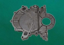 Alloy Die Casting for Satin Black Finishing Pump Shell