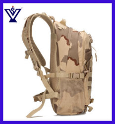 Military Tactical Camouflage Backpack Shoulders Package Outdoor Leisure Bags (SYSG-1846)