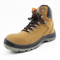 High Quality Nubuck Leather Safety Footwear/Shoes/Work Shoes with Steel Toe Cap