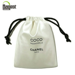 Printed Fabric Drawstring Cover Dust Bag For Shoe Handbags And Clothes