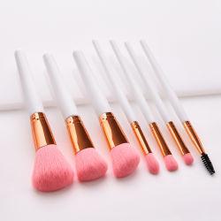 7PCS Makeup Brushes Premium Synthetic Rose Gold Make up Brush Set Foundation Concealer Eye Face Brushes