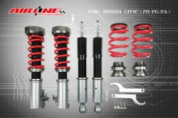 Coilover Air Suspension Shock Absorber Adjustable for Honda Civic