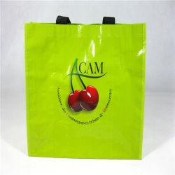 High Quality Woven Shopping Bag with Silkscreen
