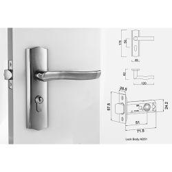 Mortise Lever Handle Zinc Alloy Door Lock