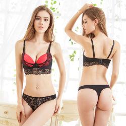 Wholesale Women's Underwear Lace Bra and T-Back Set