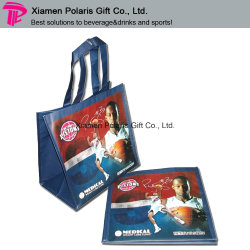 Promotion Full Color Printed Non-Woven Tote Shopping Bag with Laminated
