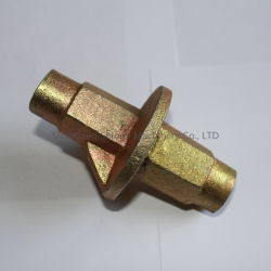 China Factory Galvanized /Self Color Casted Water Stop Nut for Formwork Wall
