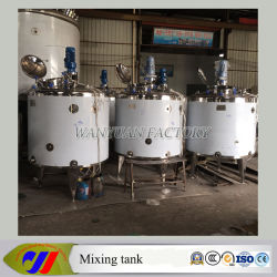 Stainless Steel Detergent Mixer Cooking Liquid Mixing Tank with Heating