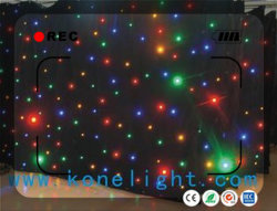 Flexible RGBW LED Star Curtain Light Soft Cloth for Stage