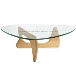 Designer Hotel Furniture Top Glass Japanese Design Teapoy Center Coffee  Cafe Table