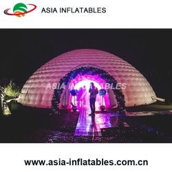 LED Inflatable Lighting Dome Tnet for Wedding Decoration
