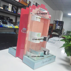 China Custom Rotating Acrylic Cosmetic Display Acrylic Make-up Organizers Acrylic Jewelry Display Manufacturer