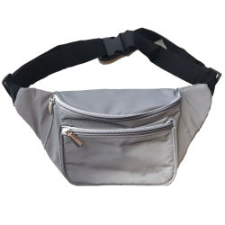 Canvas Waist Bag, Wholesale China Factory Fashion High Quality Unisex Cotton Customized Sports Fanny Pack Classic Belt Wallet, Purse Waist Shoulder Sling Bag