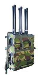 Portable Backpack 6 Channels Cell Phone Drone GSM Signal Jammer