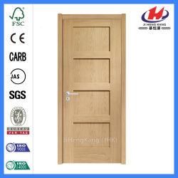 Popular Sales Knoty Pine Wood Swing Shaker Style Door (JHK SK04 1)