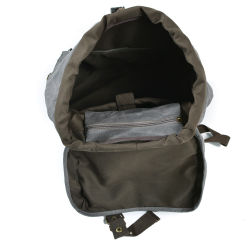 Water Repellence Canvas Tactical Backpack Military Sport Daily Bag (RS-9157)
