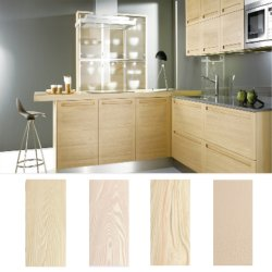 Factory Directly Sale Engineered Wood Venner Faced Solid Board