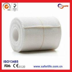 100% Cotton Fabric Elastic Adhesive Bandage Eab Tape for Muscle