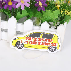 Car Shapes with Car Scent Paper Hanging Car Air Freshener (YH-AF196)