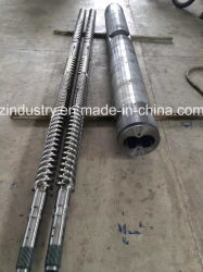 Parallel Twin Screw and Barrel for Plastic Extruder Machine