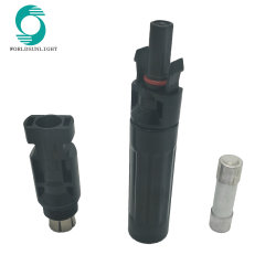 Manufacturer IP67 30AMP 1000VDC Photovoltaic Mc4 Connector with Fuse (For 2.5/4/6mm2 solar cable)