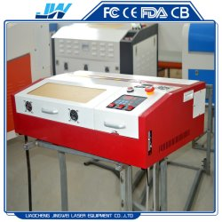 40W 50W Mini Laser Engraving And Cutting Machine For Rubber Stamp Making Polycarbonate