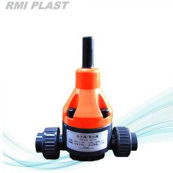Plastic PVC Double Union / Flange Ball Valve by DIN (Safety valve)