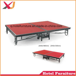 Folding Mobile Stage for Outdoor/Banquet/Wedding/Party/Celebration/Restaurant/Hotel/Show