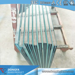 Durable Interior Commercial Clear Tempered Laminated Safety Glass Balustrade