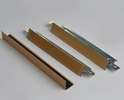 Ceiling T Bar, Ceiling T Grid, Aluminum Cross Tee, Suspended Ceiling T Profile, Metal T Grid System