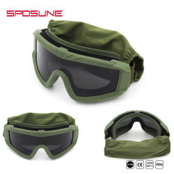 Anti-Bullet Military Tactical Anti-Dust Shooting Goggles Wholesale Military Goggles