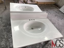 gallery marfil tops countertops creme bathroom vanity marble design bathoom