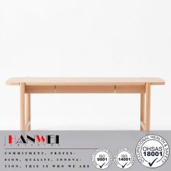 High Quality Modern Oblong Beech Coffee Table Wooden Furniture