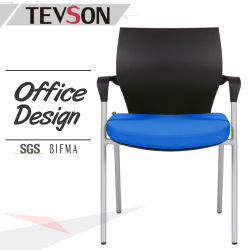 unique design four leg visitor chair for meeting waiting room or training course