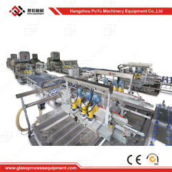 Solar Panel Tempered Coating Glass Processing Production Line