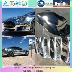 Mirror Effect Chrome Powder Paint Nickel Powder Coating for Auto Parts