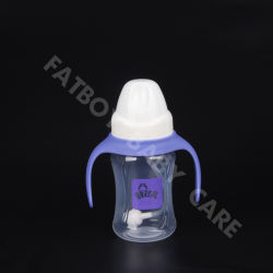 PP Food Grade Feeding Bottle with Handle Wide Mouth 180ml