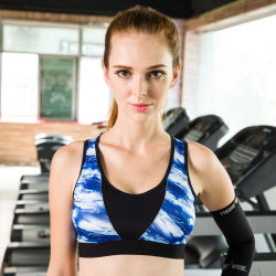 Wholesale Women Sexy Fashion Seamless Custom Sports Bra