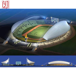Tensile Architectural Stadium Membrane Structure Shade Tent with Steel Frame