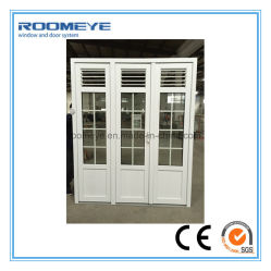 Roomeye UPVC Casement Door with Shutter/Jalousie/Louver Double Glass with Girll  sc 1 st  Made-in-China.com & China Jalousie Doors Jalousie Doors Manufacturers Suppliers | Made ...