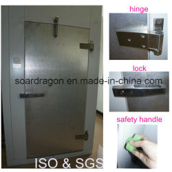 Automatical Closing Polyurethane Cold Room Door with Rubber