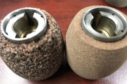 Feed Rollers for Skiving Machine in Abrasive Stone Material