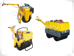 Ylj1000 Pavement Machine Ride on Soil Road Compactor with Double Drum
