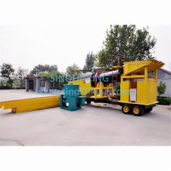 Most Popular Alluvial Gold Washing Machine Mobile Gold Mining Trommel
