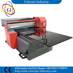 best design a3 size cj r3060uv with eight colors and high resolution uv flatbed plastic - Plastic Card Printing Machine