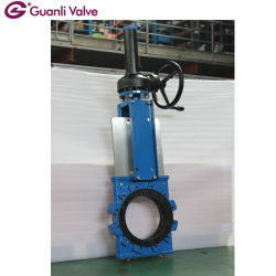 One Piece Type Slurry Knife Gate Valve for Mining